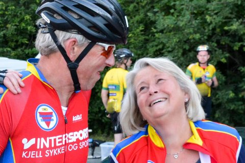 geir Arne Nilsenmed startnummer 30 syklet for 30. gang.