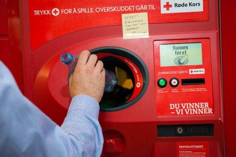 – Tusen takk til alle som trykker på Røde Kors-knappen, sier Ingvar Midthun, daglig leder i Hedmark Røde Kors.