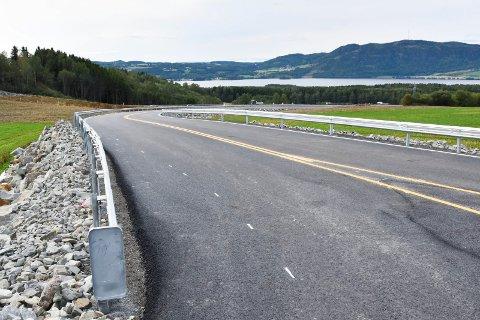 Omkjøringsveg på Bergshøgda i Furnes.