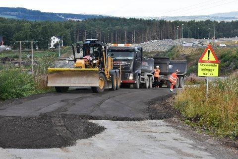 Nytt dekke: Fem lokale strekninger i RIngsaker får ny asfalt i sommer.