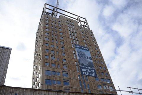 Mjøstårnet sanker inn priser allerede før åpning.