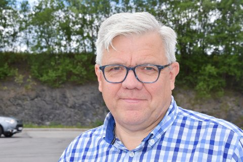 SKUFFET: Vegard Strøm, talsmann for Øyungen vel.