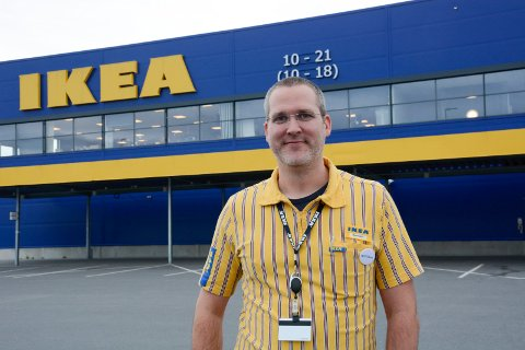Varehussjef Ikea Ringsaker Bernhard Stangel