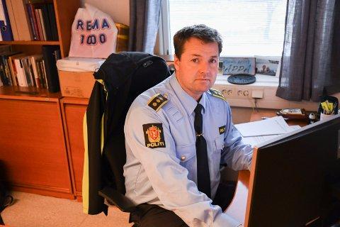 MÅ PRIORITERE: Lensmann i Ringsaker, Jørn Arild Flatha, kan forstå kritikken i saken.