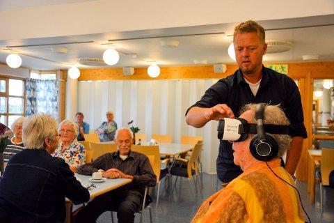 Are Søby Vindfallet i selskapet Making View sender Liv Økseter ut på en liten jordomseiling.