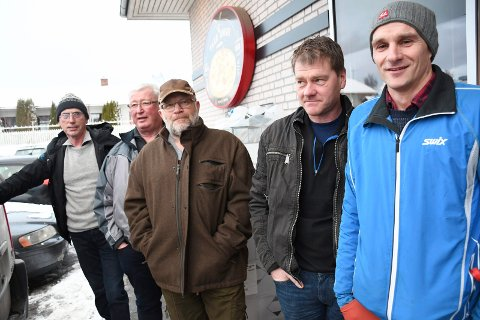 Tor Egil Mauseth (f.v.), Arnfinn Granheim, Lars Arild Houmb, Sven Arne Sylling, Martin Bangsberg og John Gunnar Lien.
