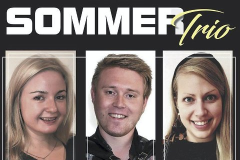Folkemusikk-gruppa Sommer Trio: holder konsert på Nærvang i Næroset fredag klokka 19.