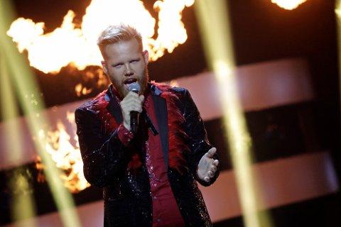 Reprise: Kim Rysstad skal synge  Rise Like a Phoenix i finalen, låten han også sang i MGP-programmet.