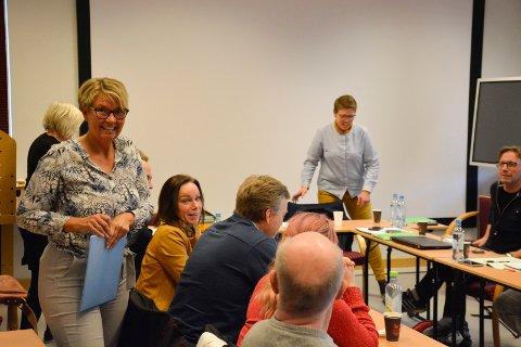 Foreslo: Trude Engen Strand, leder i Ringsaker kulturråd, foreslå en ny løsning for mangelen på øvingslokaler for kor og korps. Politikerne i oppvekstkomiteen var positive til ideen.