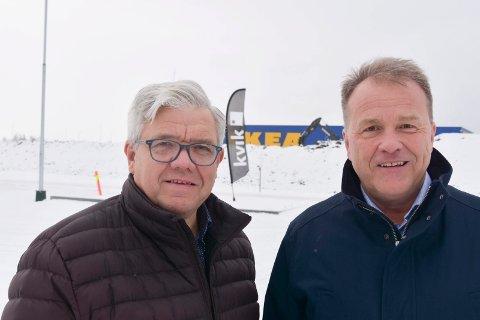 Olrudgruppen: Vegard Strøm (t.v.) og Øystein Holtet.