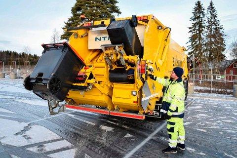NY ORDNING: Ringsaker får ny søppelordning.