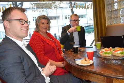 Valgkomiteens leder Espen Johnsen er trygg på at  Anita Ihle Steen og Rune Støstad vil bli gode personer som leder og nestleder når Hedmark og Oppland Arbeiderparti nå slår seg sammen.
