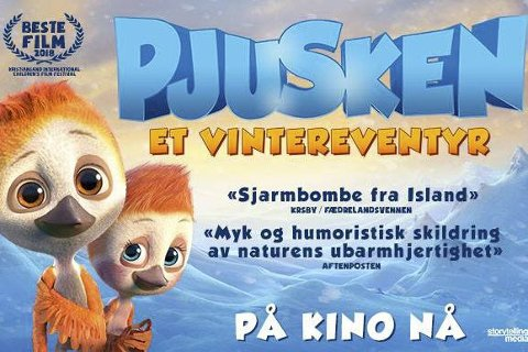 Bygdekino: Fredag klokka 18 vises filmen om «Pjusken» i Tingnes kulturhus.