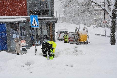Snørikt: Innlandsvintrene kan være snørike. Når får kommunene rundt Mjøsa 14 millioner kroner til et snøprosjekt.