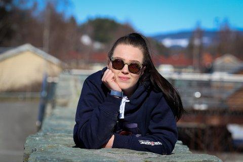 HAR PLANEN KLAR: Når russetida er over sikter Hedda Svenkerud seg mot psykologyrket via studier på Lillehammer.
