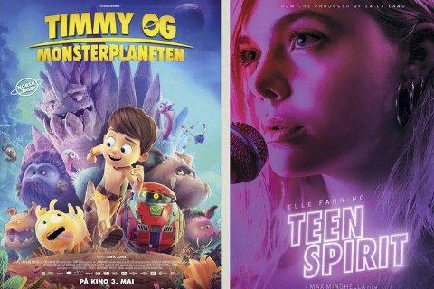 Bygdekino: I Moelv Kulturhus vises «Timmy og Monsterplaneten» onsdag klokka 18, og klokka 20 vises «Teen Spirit».