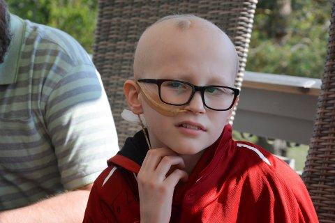 Leander Mostue Gubberud er gutten som overvant den agressive kreften.