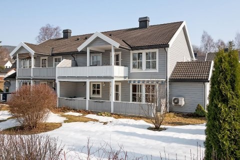 Stort utvalg: Mandag formiddag var det over 164 leiligheter til salgs i Ringsaker. Langenga 1A er en av de over 100 leilighetene til salgs i Brumunddal.