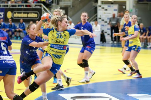 Finaleklar: Mia Svele og Storhamar er klar for klubbens første sluttspillfinale.