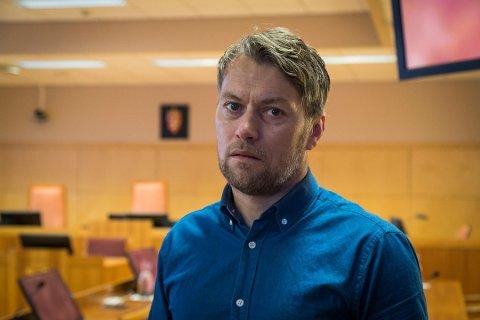 ANKESAK: Janne Jemtlands bror, Terje Opheim, gruer seg foran ankesaken mot søsterens ektemann. Her fra den første runden i retten i fjor.