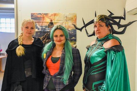 Lauget Cosplay: Knuts Sletten, Sunde og Normand er opptatte av at alle er velkomne i cosplay miljøet.