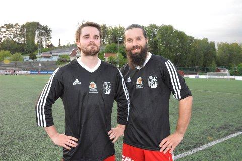 Gode i 45 minutter: Petter Løseth Johansen og Trond Andre Jensbakk på Nybygda var gode i første omgang. Så overtok Jesskam.