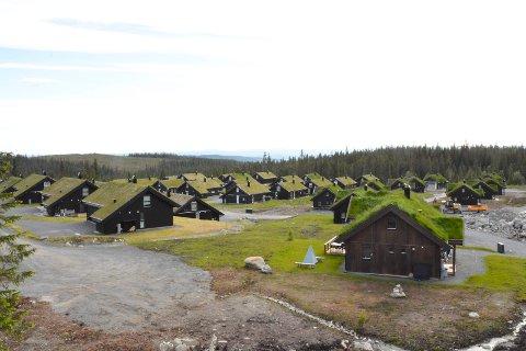 Valgfrihet: Bør hytteiere selv få velge hvilken kommune du kan stemme i? Det kan kanskje bli aktuelt for hytteiere i Ringsakfjellet som her fra hyttefeltet på Gutubakken.