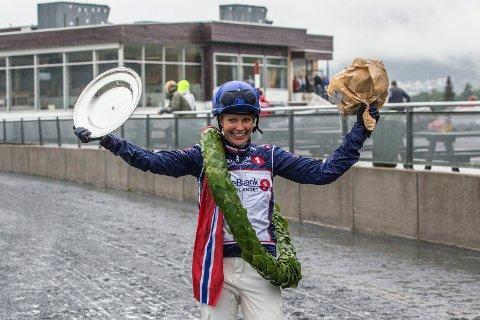 For fjerde gang: Øveråsen vant NM for monteryttere for fjerde gang.