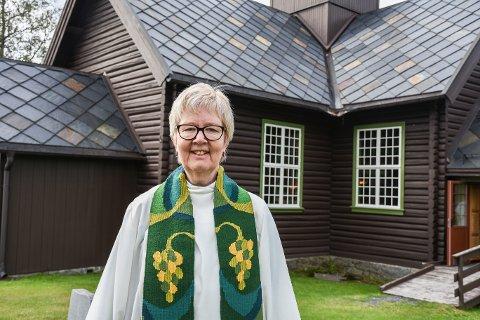 Prest: Siri Sunde gir seg som prest i Brøttum sokn og flytter til Oslo hvor hun vil jobbe som prest i Sagene Kirke.