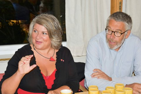 SKAL I SAMTALER: Anita Ihle Steen (Ap) og Christian Haugens SV skal i samtaler om et samarbeid.