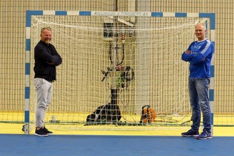 KLARE: Brumunddølen Reidar Møistad og tidligere Storhamar-trener Arne Senstad er klare til å føre damelandslaget i Polen til EM i 2020.