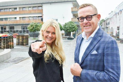 INVITERER: Kulturrådgiver Henriette Enger (t.v.) og næringssjef Tor Rullestad inviterer kreative ringsaksokninger til å komme for å vise fram sine skaperverk.