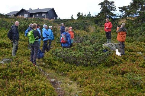Appell: Fjellmarsj for friluftsliv ble arrangert i helga.