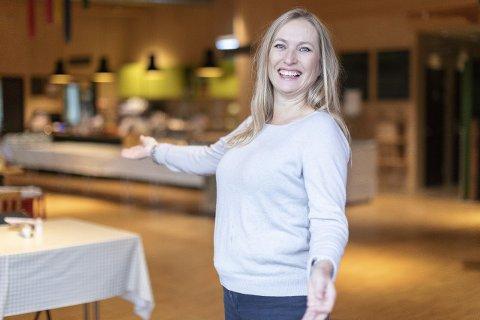 INNFLYTTERFEST: Om du har flyttet til Ringsaker i de siste årene er du hjertelig velkommen til innflytterfest på Prøysenhuset som Ringsaker kommune, her ved markedssjef Bjørg Mykløy, arrangerer torsdag.