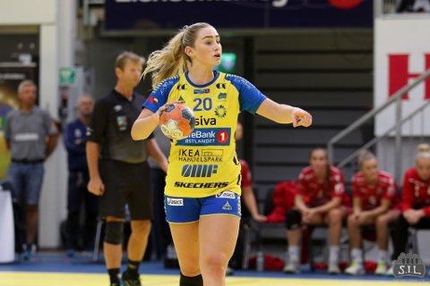 Helt sjef: Mia Solberg Svele styrte Storhamar-skuta til nok en seier.