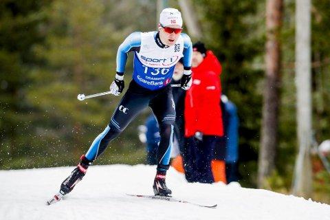 Sveen: Ringsaker beste langrennsløper, Simen Sveen, ble nummer 16 på åpningsdistansen i NM.