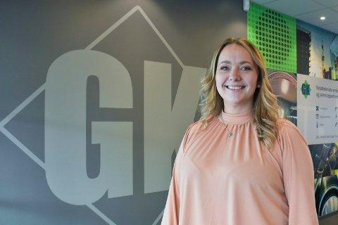 SKIFTET YRKE: Marianne Seljelv-Valen gikk fra å være frisør og daglig leder til å bli serviceleder ved GK Inneklima 21. september.