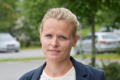 KOMMUNEOVERLEGE: Cecilie Blakstad Eikenes.