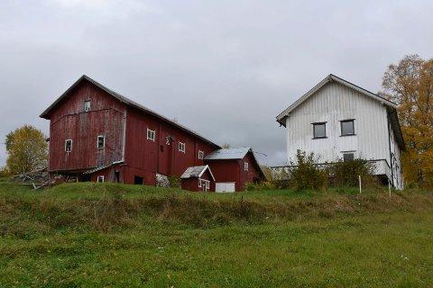 TIL SALGS: Dette småbruket i Brumund er til salgs for 1,1 millioner kroner.
