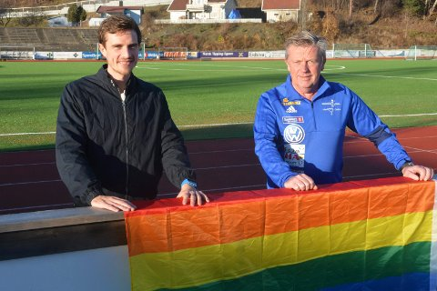Sveum for alle: Christoffer Heier Solbakken og Bjørn Nybu er klare på at Sveum for alle står sterkt i klubben.