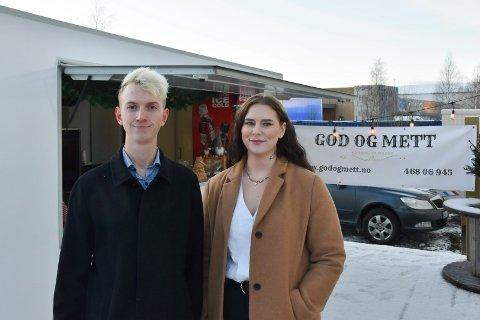 SATSER: Fredrik Skaugen og Mari Ruud starter cateringsvirksomheten God og Mett.