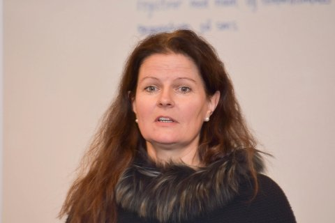 MANGE MØTER: Cathrine M. Lofthus, administrerende direktør i Helse Sør-Øst, opplyser at det på nyåret vil gjennomføres møter med alle kommunene i Innlandet, etter at prosjektgruppas anbefaling om å bygge Mjøssykehuset i Brumunddal har skapt mye oppstyr.
