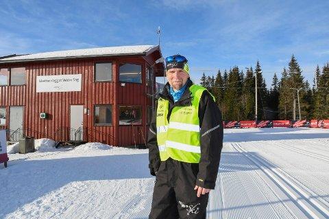 Vil ha mer langrenn på Veldre sag: Leder Bjarte Holm i MjøsSki mener mange forbinder klubben  med skiskyting. - Vi ønsker  å arrangere flere store skirenn, sier han.