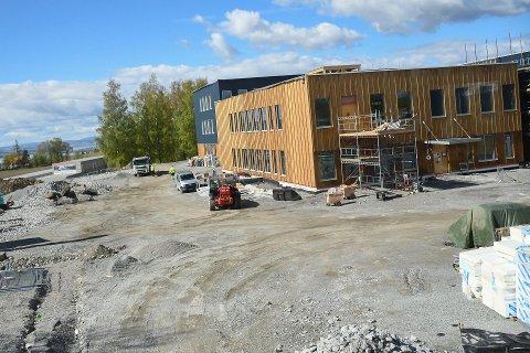BYGGEPROSJEKTER: Ringsaker kommune ser på om de kan framskynde vedlikeholds- og byggeprosjekter. Her et illustrasjonsbilde fra byggingen av Stavsberg skole.