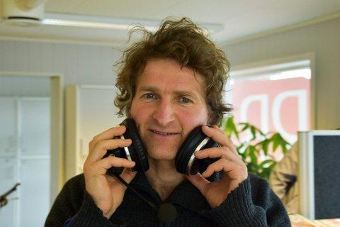 GJESTER RB-PODDEN: Forfatter og brumunddøl Thor Gotaas.