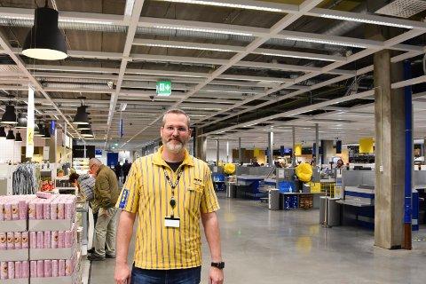 VAREHUSSJEF: Bernhard Stangel, IKEA Ringsaker.