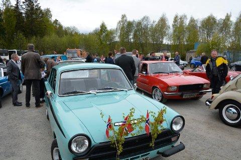 KJØRETØYPARADER: Kultursjef Asle Berteig forteller at det sannsynligvis blir arrangert kjøretøyparader under den kommende 17. mai-feiringen.