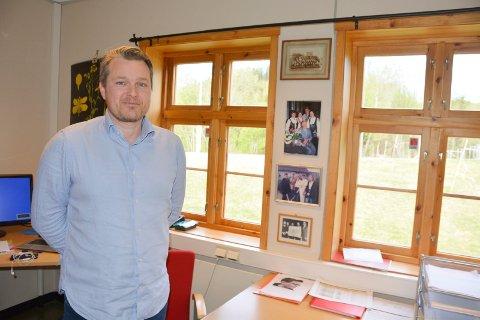 Rektor: Fredrik Sørensen Dahl er for tiden rektor for både Messenlia, Lismarka, Åsen og Fagernes.