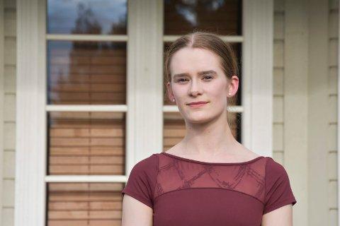 MÅLRETTET: Eline Værnes Bakke (21) fra Gaupen.