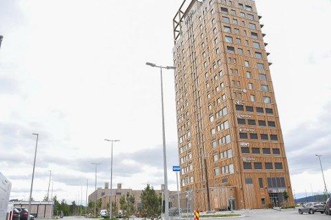 Mer bygg: Mjøstårnet AS vil bygge nytt næringsbygg ved siden av Mjøstårnet. Det skal blant annet huse Mattilsynet.